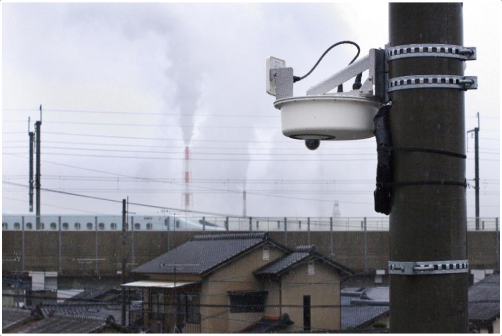 新幹線を挟んだ分散施設の遠隔監視が実現のサムネイル
